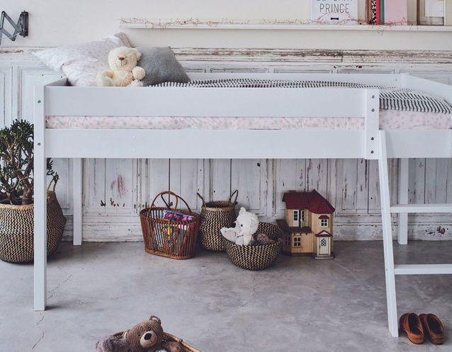 Les Plus Beaux Lits Mezzanines Pour Prendre De La Hauteur Et Gagner De La Place Elle Decoration