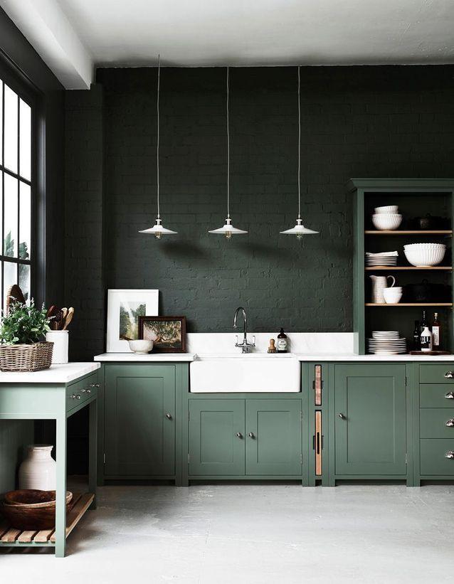 Cuisine Moderne 25 Cuisines Contemporaines Pour Vous Inspirer Elle Decoration