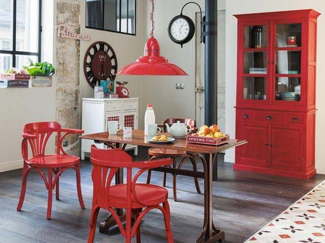 La Deco Bistrot S Invite Chez Vous Elle Decoration