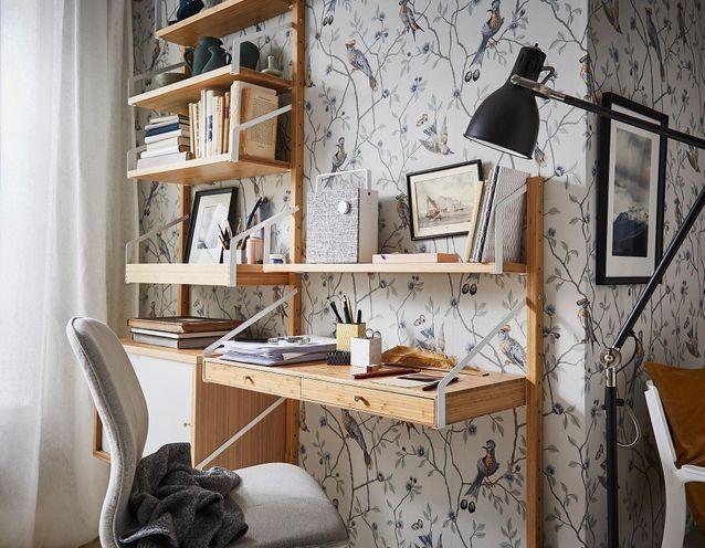 Les Plus Beaux Bureaux Ikea Pas Chers Et Tendance A Shopper Elle Decoration