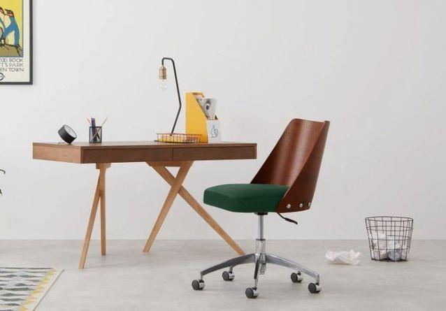 20 Chaises De Bureau Pour Allier Beau Design Et Bon Travail Elle Decoration