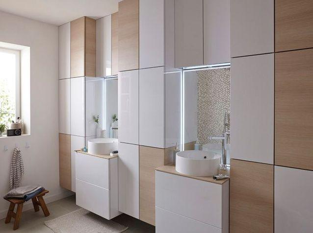 40 armoires de salle de bains elle