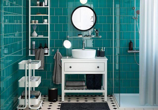 Les Plus Belles Salles De Bains Du Catalogue Ikea Elle Decoration