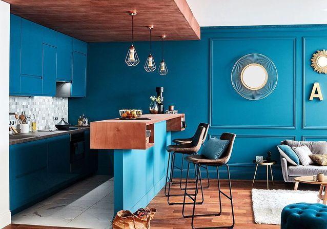 Bleu Canard La Couleur Dont Tous Les Decorateurs Raffolent Elle Decoration