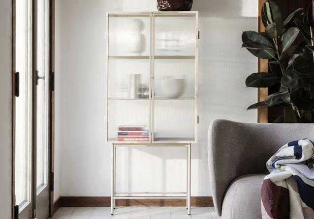 meuble vitrine valoriser sa deco avec