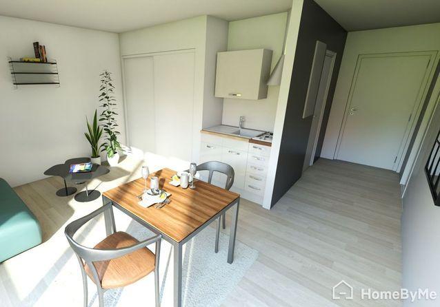 Plan De Studio 3 Facons D Amenager Un Studio De 35 M Elle Decoration