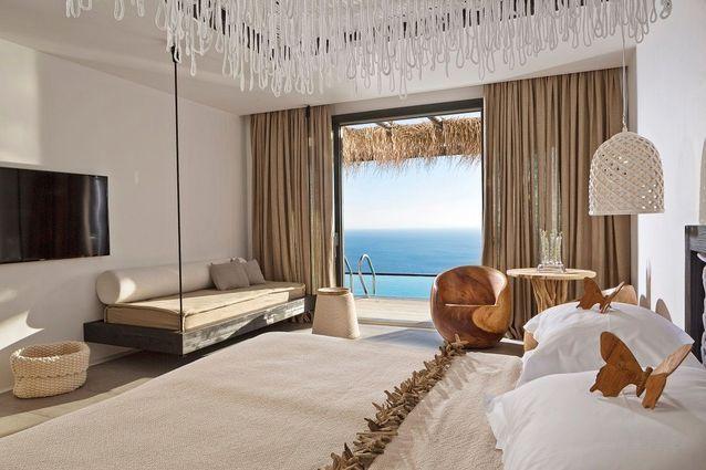 Chambre vue mer, Myconian Utopia Resorts Relais & Châteaux, Grèce