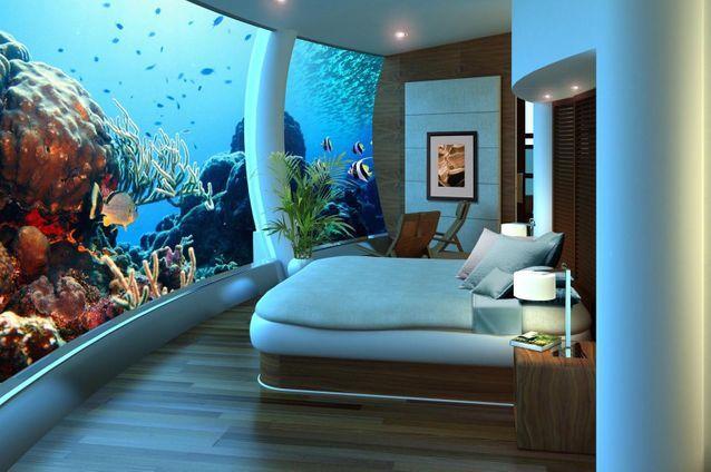 Suite Poseidon Underseas Resorts, Îles Fiji
