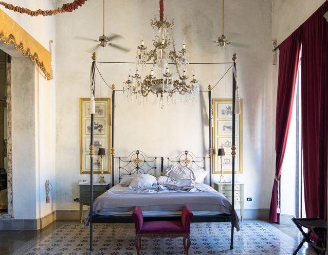 La chambre de l'hôtel Coqui Coqui à Merida