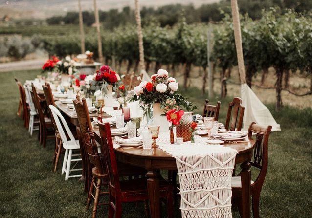 table de mariage 35 idees deco dignes de ce grand jour