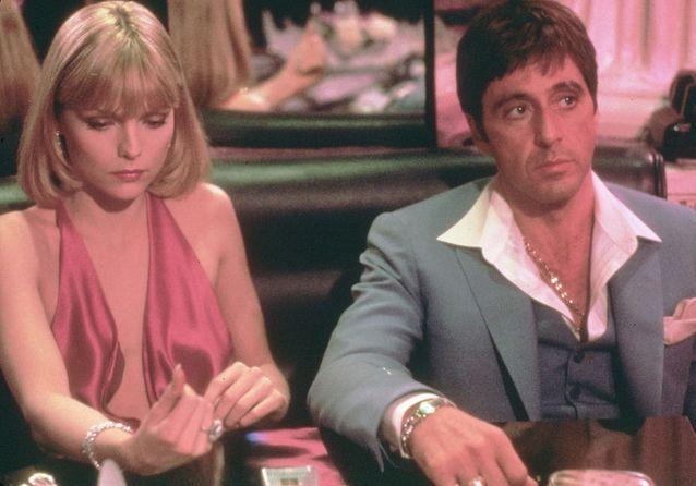 """Kült Filmler Brian De Palma tarafından """"Scarface"""""""