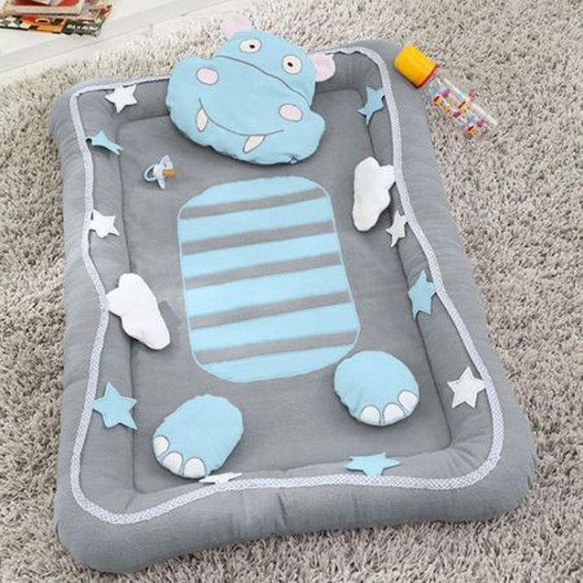 tapis d eveil hippopotame cadeaux de
