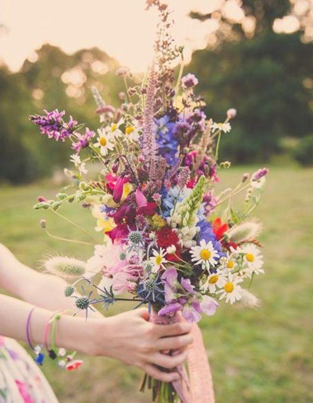 Bouquet De Mariee Fleurs Des Champs 20 Beaux Bouquets De Mariee
