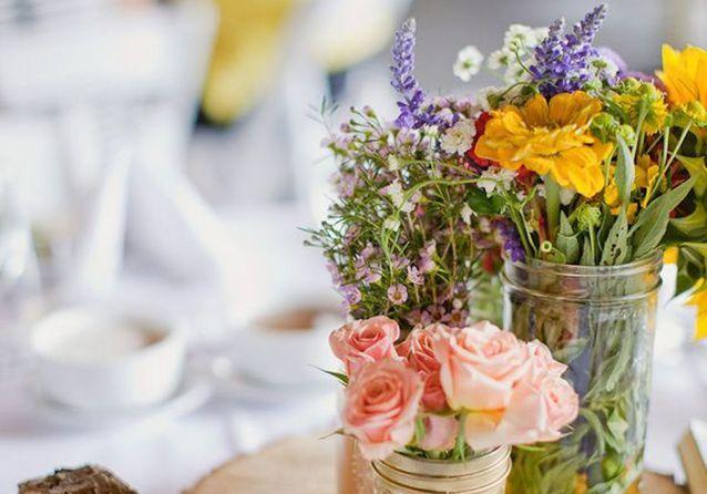 centre de table nos 20 jolies idees pour un mariage reussi