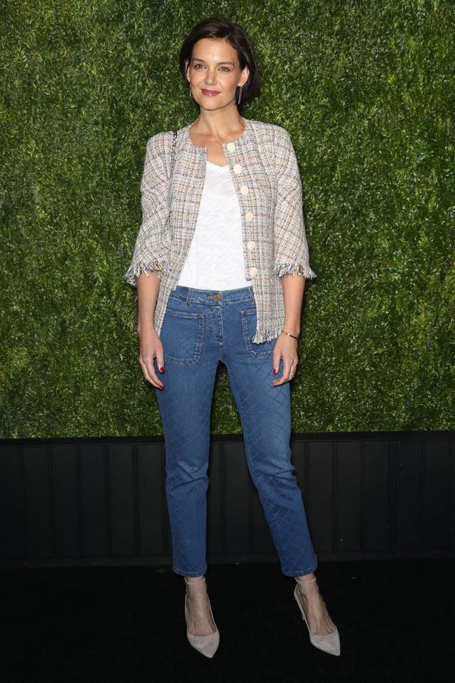 Katie Holmes à New York, en 2018