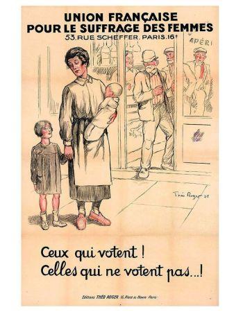 Le combat pour le droit de vote des femmes