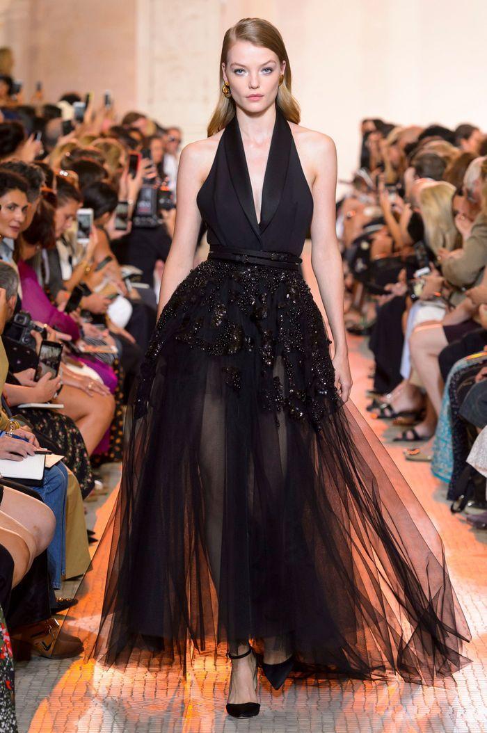 Dfil Elie Saab Haute Couture Automne Hiver 20182019