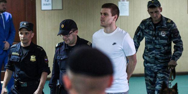Russie : deux footballeurs  condamnés à de la prison ferme