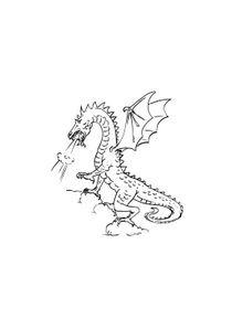 Coloriages Dragons A Imprimer Coloriages Personnages
