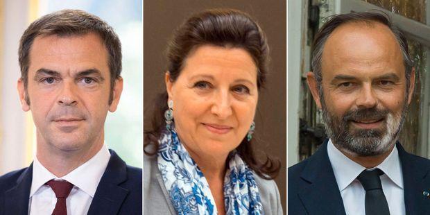 Olivier Véran, Agnès Buzyn et Edouard Philippe sont visés par des plaintes.