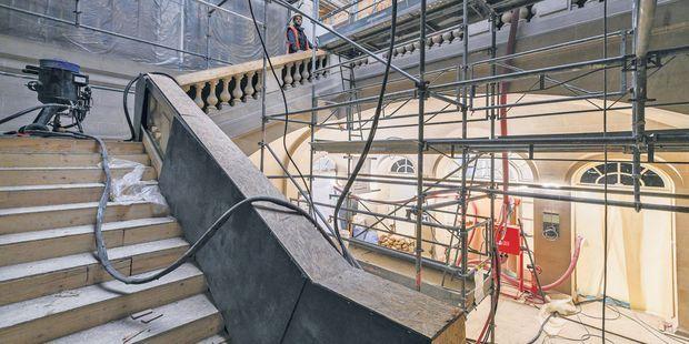 La restauration extérieure et le gros oeuvre s'achèvent au musée Carnavalet (3e), consacré à l'histoire de la capitale.