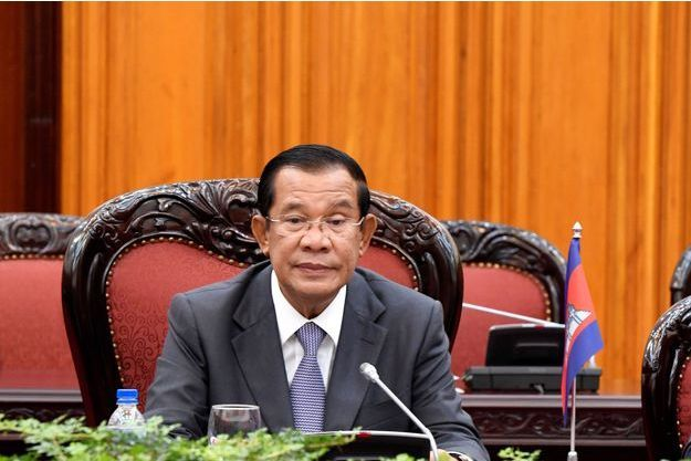 Hun Sen, le 13 septembre dernier à Hanoi, au Vietnam.