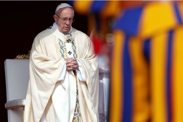 Le pape François à Rome, le 16 avril 2017.