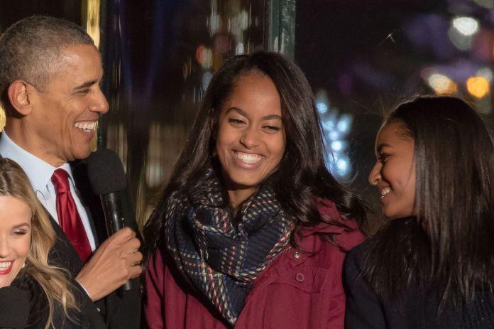 "Barack Obama : ses filles Sasha et Malia, sa plus ""grande fierté"""