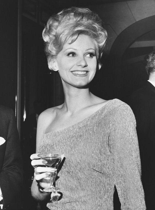 Jill Ireland en 1962.