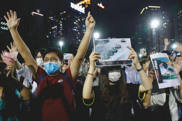 Le 4 juin, les habitants de Pékin célébraient l'anniversaire de la répression de Tiananmen, malgré l'interdiction.