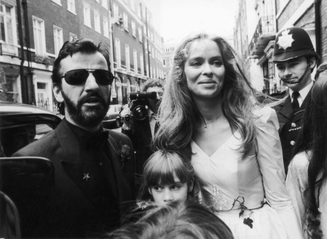 Ringo Starr Barbara Bach Mariage 1981 Photos 1
