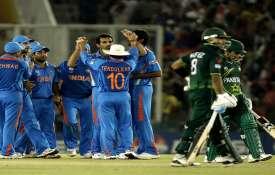 India vs Pakistan, Sachin Tendulkar, Virender Sehwag, Umar Gul, Shahid Afridi, 2011 World Cup, MS Dh- India TV Hindi