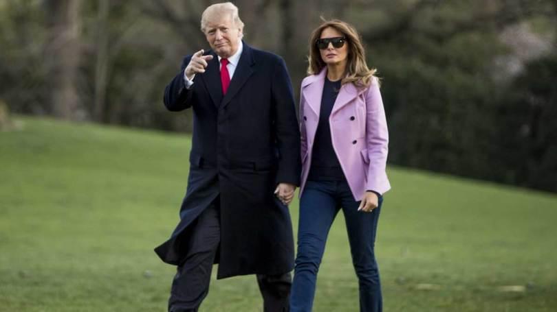 Donald Trump & Melania to spend an hour at Taj Mahal   गोल्फ कार्ट पर सवार  होकर ताज के पूर्वी गेट से अंदर जाएंगे ट्रंप और मेलानिया, जानें खास बातें -  India