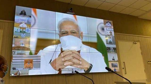PM modi meeting with chief minister on Lockdown extension- India TV