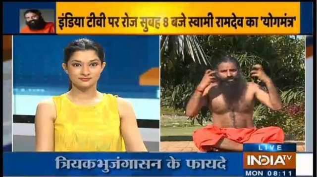 Yog Guru Swami Ramdev - India TV Hindi
