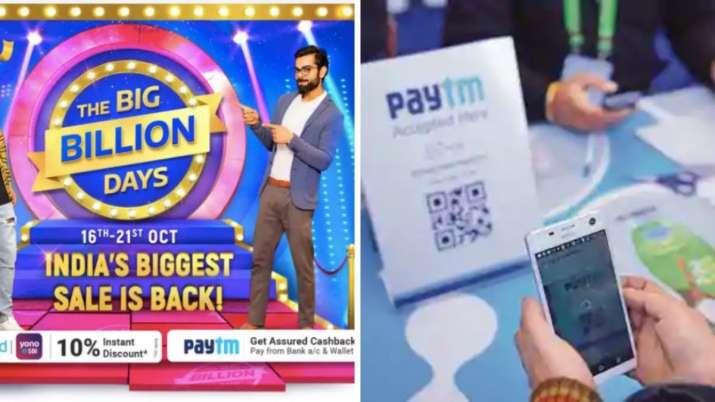 Flipkart partners Paytm for festive sale- India TV Paisa