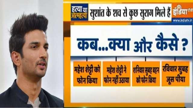 Sushant - India TV Hindi