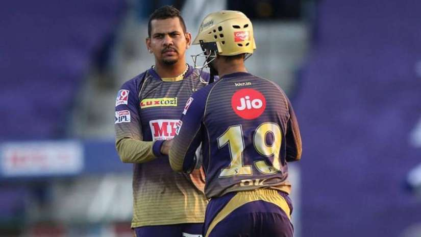 KKR, Sunil Narine, Suspected bowling action, Kings XI Punjab, Abu Dhabi - India TV Hindi