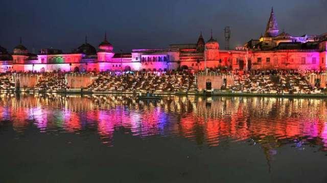 Ayodhya deepotsav more than 5 lakh lamps to lit up ram nagari । अयोध्या में चौथे दीपोत्सव की तैयारिय- India TV Hindi