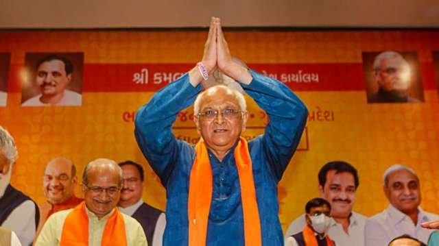 Gujarat CM Bhupendra Patel's new cabinet to be sworn-in on Thursday; fresh faces expected- India TV Hindi