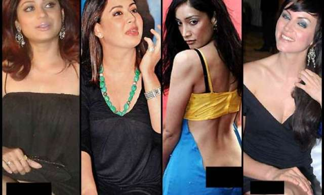 Bollywood Babes Caught Without Panties See Pics