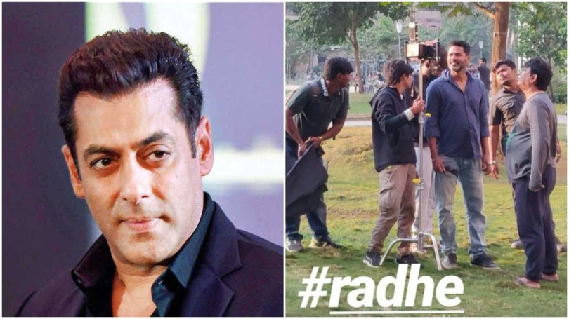 Shooting of Salman Khan's Radhe: Your Most Wanted Bhai kickstarts ...