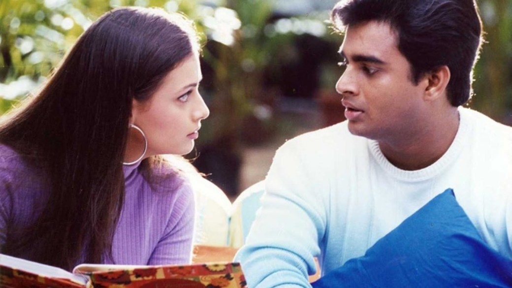 R. Madhavan and Dia Mirza in Rehna hai tere Dil mein