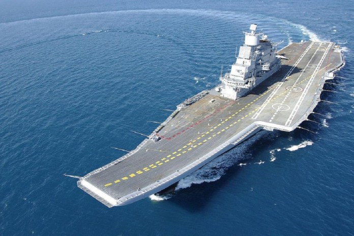 INS Vikramaditya fire navy personnel statement | India News – India TV
