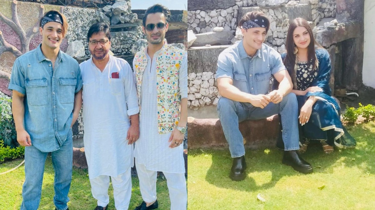 Asim Riaz And Himanshi Khurana celebrate Eid together, treat fans with  beautiful photos   Celebrities News – India TV