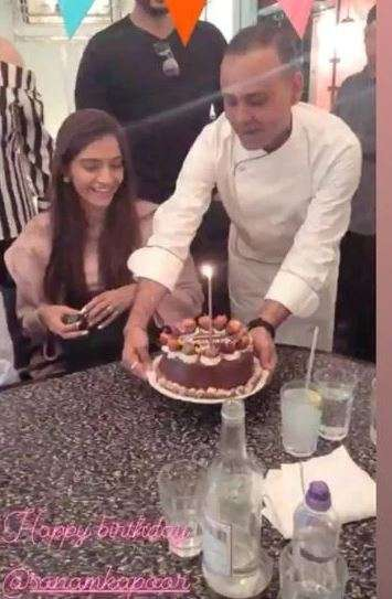 India Tv - Sonam Kapoor's birthday pictures