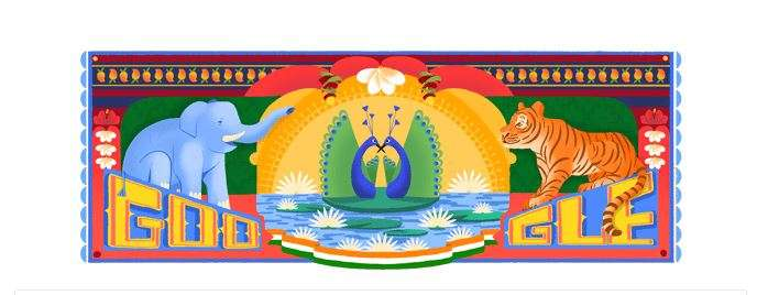 Google Celebrates India S 72nd Independence Day With A Colourful