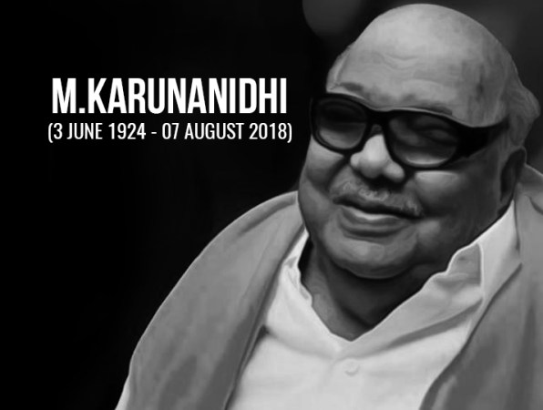 DMK patriarch M Karunanidhi passes away at 94  President  Prime     DMK patriarch M Karunanidhi passes away at 94  President  Prime Minister  lead nation in condoling demise of former Tamil Nadu CM   India News      India TV