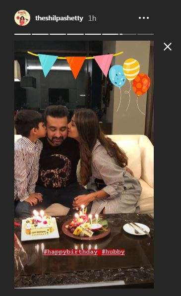 India Tv - Shilpa Shetty celebrates husband Raj Kundra's birthday in Bangkok