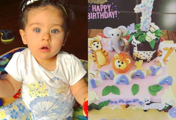 Soha Ali Khans Little Princess Inaayas Jungle Themed First